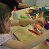Isn't art fun!  We have awesome activities like pottery painting for the whole family to enjoy!